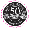 Carbon Steel Profiles Limited 50th Anniversary Logo