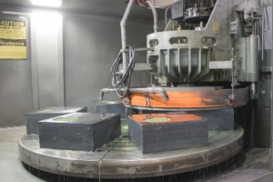rotary surface grinding assembly